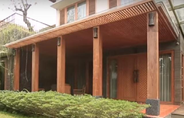 Rumah kayu legan dan mewah