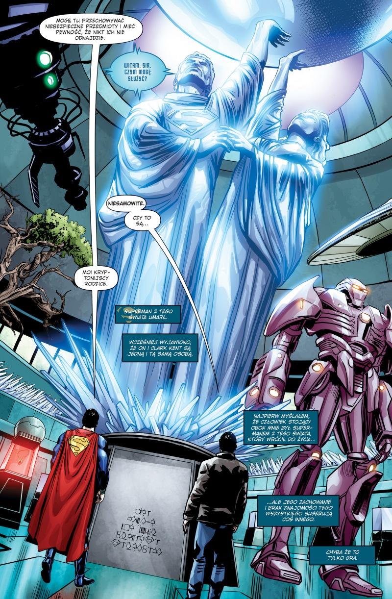 Superman: Action Comics tom 2 przykładowa strona