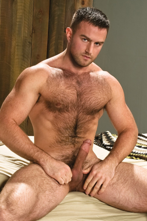 Blonde men with hairy chests nude