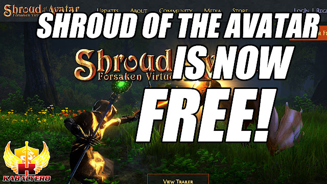 Shroud Of The Avatar Is Now FREE-To-Play