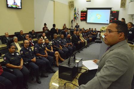 Sessão solene registra 124 anos de fundação da Guarda Municipal de Feira de Santana (BA)