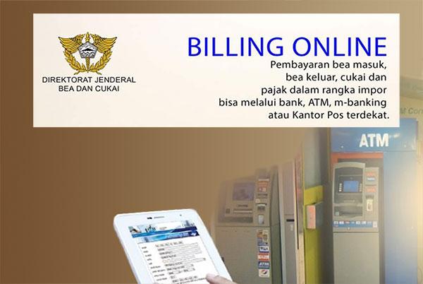 Penggunaan Billing Online Bea Cukai