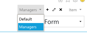 Adding multiple form sets for a SharePoint list
