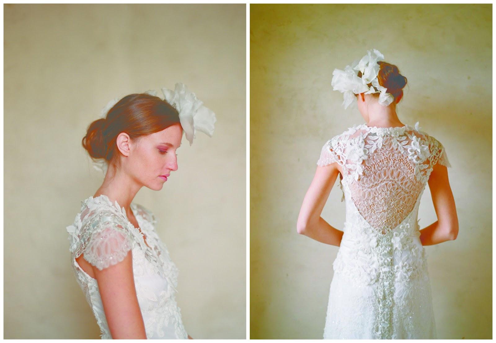Classic Wedding Gown Designs: Vintage Romantic Wedding Dresses By Claire Pettibone
