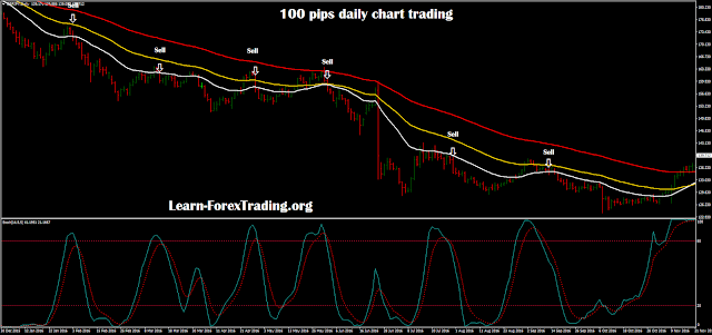 100 pips daily chart trading