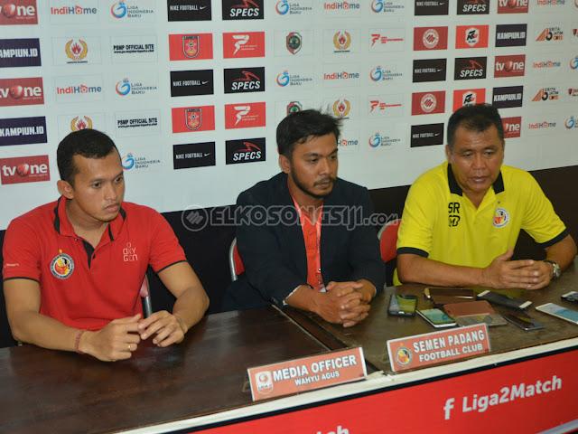 Usai Kalah 1-3 Atas PS Mojokerto Putra, Semen Padang FC Kecewa