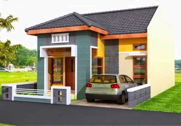 Contoh gambar rumah minimalis sederhana yang moderen
