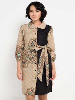 Dress Batik Modern Couple