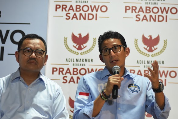 Soal Setan Gundul di Kubu Prabowo, Sandiaga: Jangan Menambah Kekisruhan
