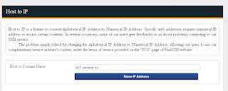 Mengubah Host Menjadi IP Pada Akun SSH