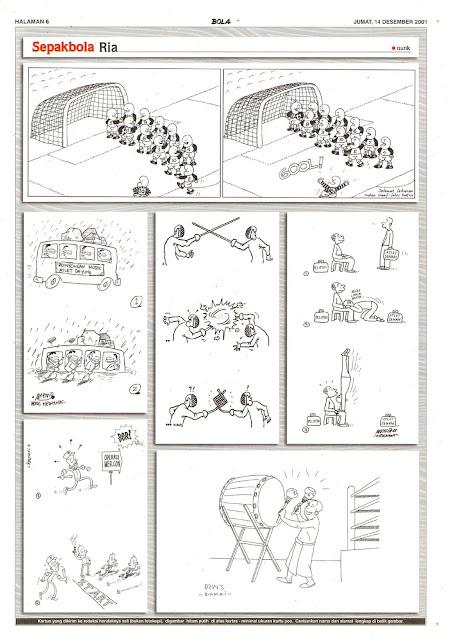 Sepakbola Ria EDISI JUM'AT, 14 DESEMBER 2001