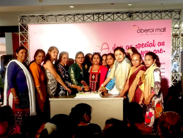 Oberoi Mall felicitates Women Achievers on 'International Woman's Day'
