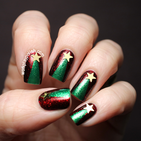Digit-al Dozen: Christmas Trees (work / play / polish)