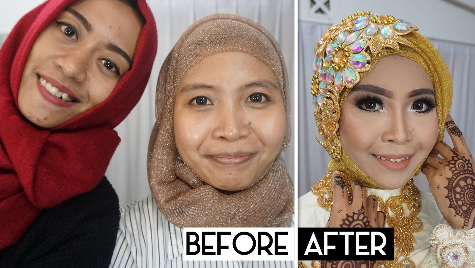 Ini Vindy Yang Ajaib: Wedding Muslim Makeup Tutorial 2016