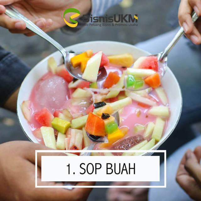 sop buah -prospek bisnis minuman Selalu Laris Manis di Bulan Ramadhan!