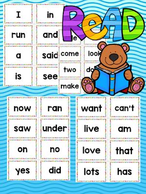 https://www.teacherspayteachers.com/Product/Kindergarten-Word-Wall-Sight-Words-2017503