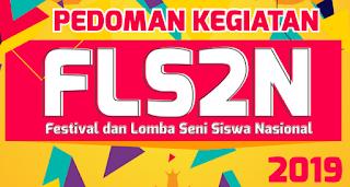 Download Pedoman Festival dan Lomba Seni Siswa Nasional (FLS2N) SMA 2019