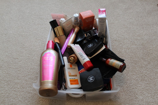 STEP BY STEP MAKEUP ORGANIZATION