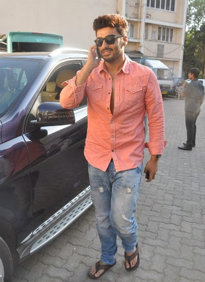 Gunday Actor Arjun Kapoor snapped at a magazine shoot