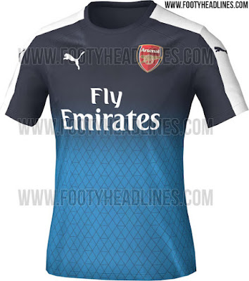 Photos: Puma Reveals New Arsenal Kits for Second Half of Season