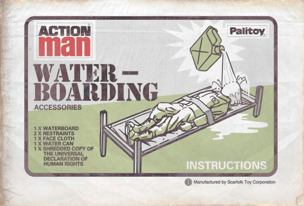 Scarfolk Council Action Man Waterboarding Accessories Early 1970s
