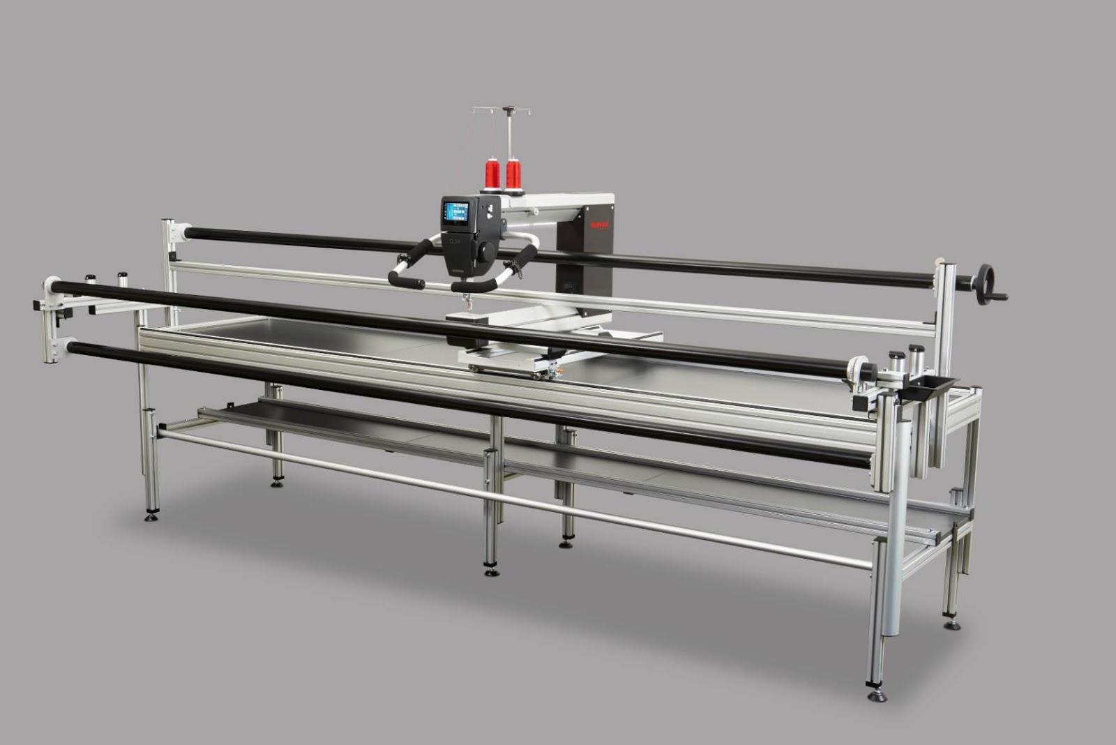 BERNINA India: BERNINA Long arm quilting machine model Q20 and Q24