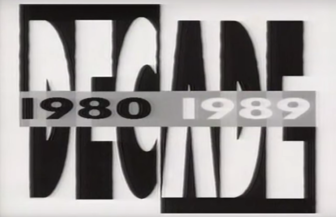 Decade 1980 1989 Covered All The Fun Topics Like TV Music Fads And Technology