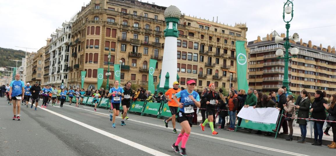 Inscripciones abiertas Behobia - San Sebastián 2018