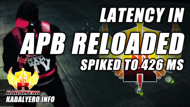 Latency Spiked To 426 ms In APB: Reloaded, Framerate Dropped Down To 8 FPS