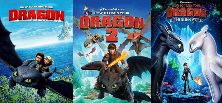 Applications Helps How To Train Your Dragon 2010 How To Train Your Dragon 2 2014 How To Train Your Dragon 3 The Hidden World 2019