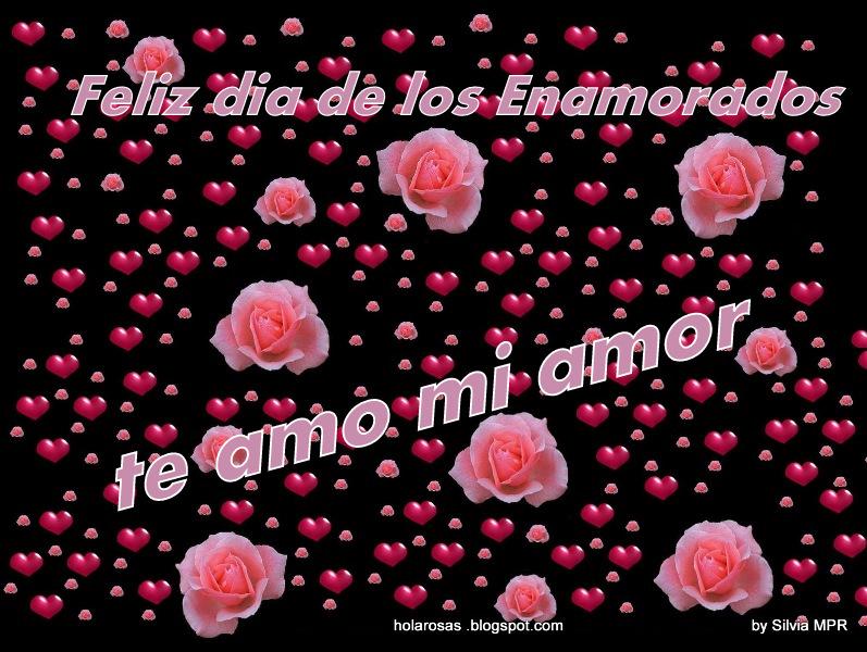 Fondo De Pantalla Dia De San Valentin Regalo Con Rosa: Imagenes De Amor: Corazones Y Rosas Amor Enamorados San
