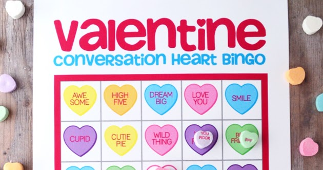 graphic relating to Valentine Bingo Printable named Free of charge Printable Valentine Bingo artsy-fartsy mama