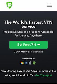PureVPN is the worlds fastest vpn service