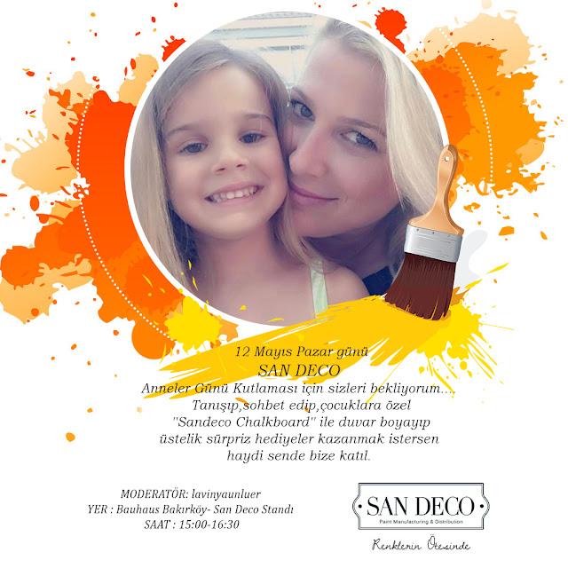 San Deco'dan Anneler gününe özel kutlama