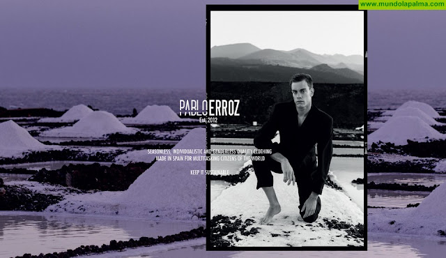 Isla Bonita Moda posiciona al modelo palmero Marc Castignani como imagen de la nueva editorial de la firma internacional Pablo Erroz