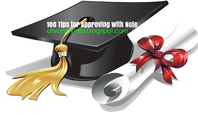100 Tips for Approving with Note to get more out of your study time