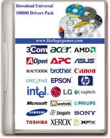 Universal Driver 100000 Latest Version For All Windows,XP,Vista,7,8