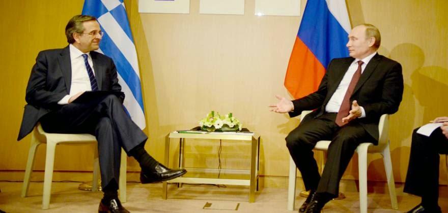"""""""Φαρμάκι"""" από Μόσχα κατά Α.Σαμαρά για την """"ενεργειακή παράδοση"""" της χώρας στη Δύση Τι λέει ο Πούτιν για τον TAP"""