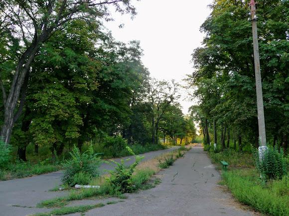 Авдеевка. Парк железнодорожников