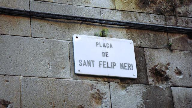Plaça Sant Felip Neri, Barcelona