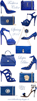 Pantone Fashion Lapis Blue #accessories #pantone #brilliantluxury