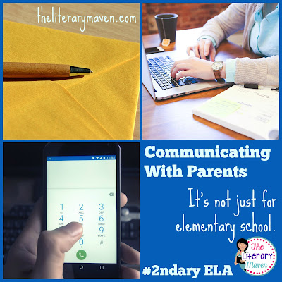 Parents should be your partners in the classroom, even at the secondary level. In this #2ndaryELA Twitter chat, middle school and high school English Language Arts teachers discussed parent communication best practices for positive and negative academics/behaviors, technology tips, and ways to involve students in the process. Read through the chat for ideas to implement in your own classroom.