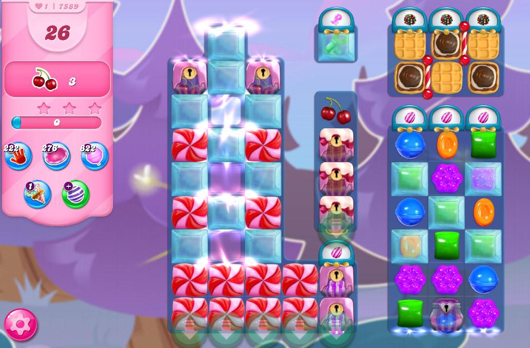 Candy Crush Saga level 7589