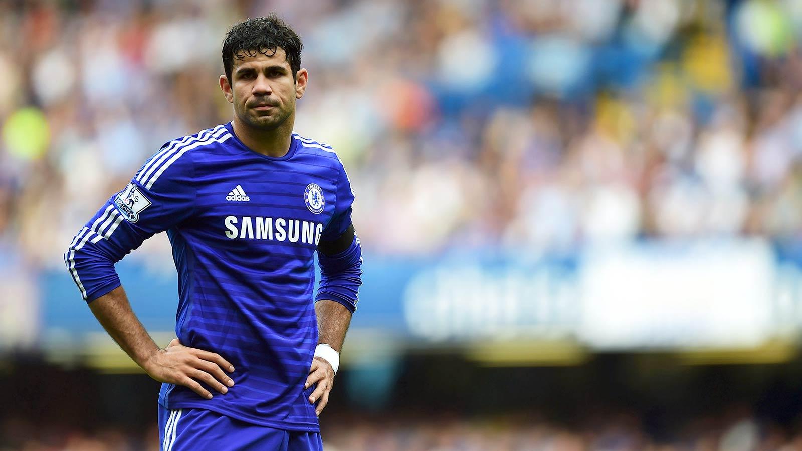 Kesan Diego Costa Selama Berseragam Chelsea