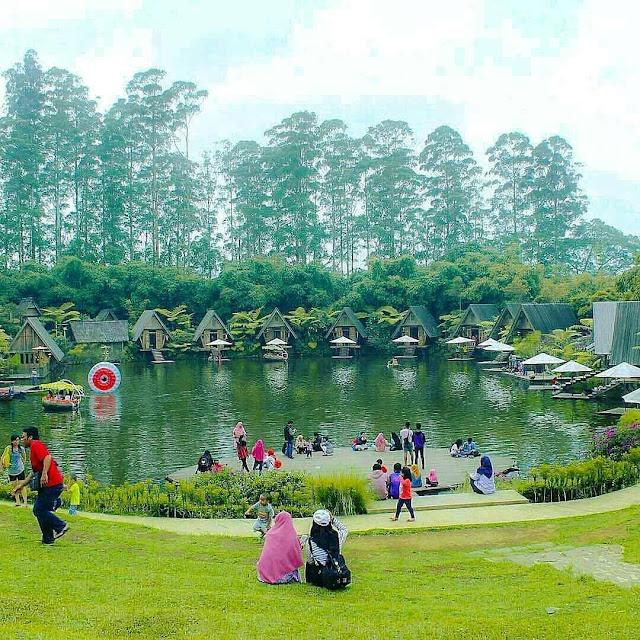Percutian Melancong Tempat Menarik di Bandung Dusun Bambu  Lembang