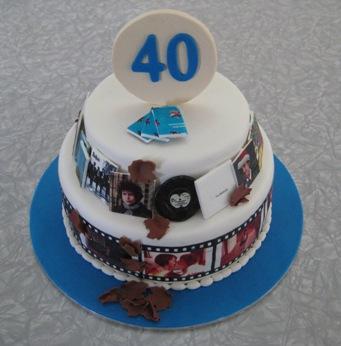 Kiwi Cakes My hubbys 40th birthday