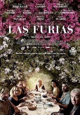 Las Furias 2016 DVD R2 PAL Spanish