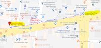 Peta lokasi Titik Jemput Penumpang Ojek Online Gojek-Grab di Gamping Yogyakarta