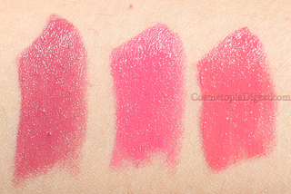 Estee Lauder Pure Color Love Lipsticks Review, Swatches