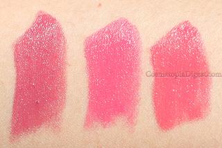 Estee Lauder Pure Color Love Lipsticks Review, Swatches